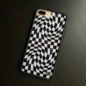Crazy Checkers Wildflower Case for iPhone 8+/7+/6+